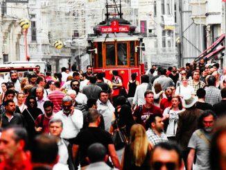 Istiklal katu, Istanbul. Kuva: pixabay.com