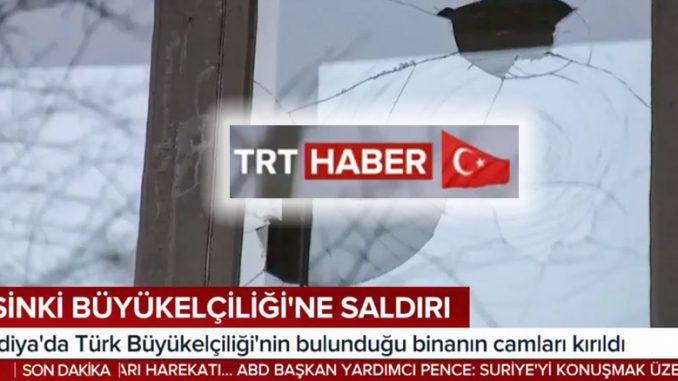 Kuvakaappaus TRT Haber
