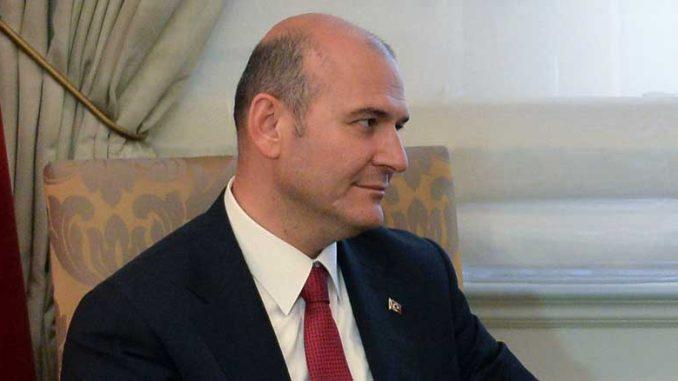 Turkin sisäministeri Süleyman Soylu