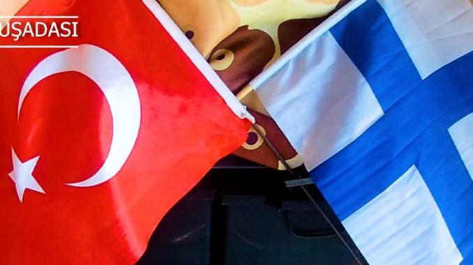 Turkin ja Suomen liput