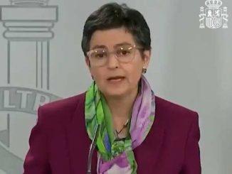 Espanjan ulkomınısterı Arancha Gonzalez Laya
