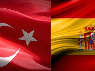 Turkin ja Espanjan liput