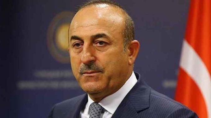 Turkin ulkoministeri Mevlüt Çavuşoğlu